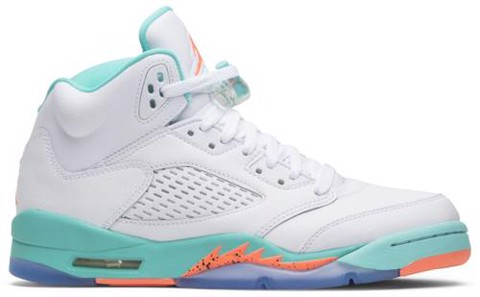 Nike Air Jordan 5 Retro 'Light Aqua' 440892-100