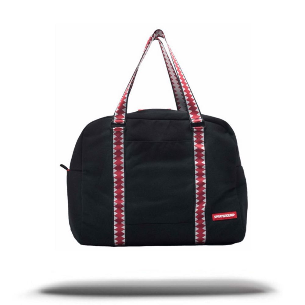 SPRAYGROUND Ghost Vertical Shark Duffel Bag