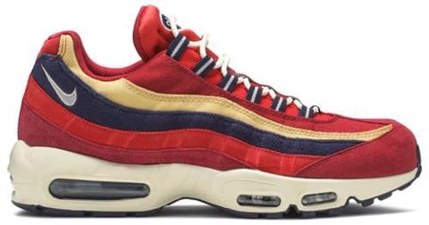 Nike Air Max 95 Premium 'Red Crush' 538416-603