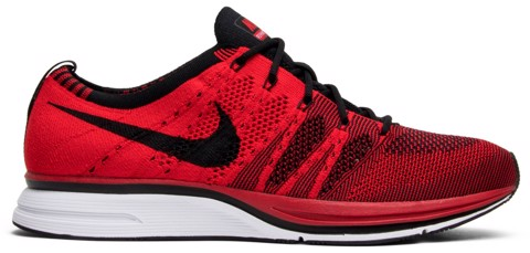 giay nike flyknit trainer university red ah8396 601