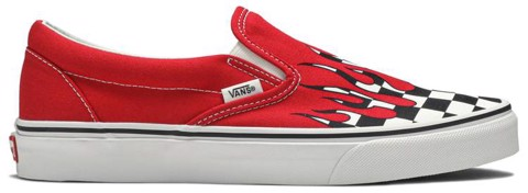 Vans Slip-On 'Checker Flame' VN0A38F7RX5
