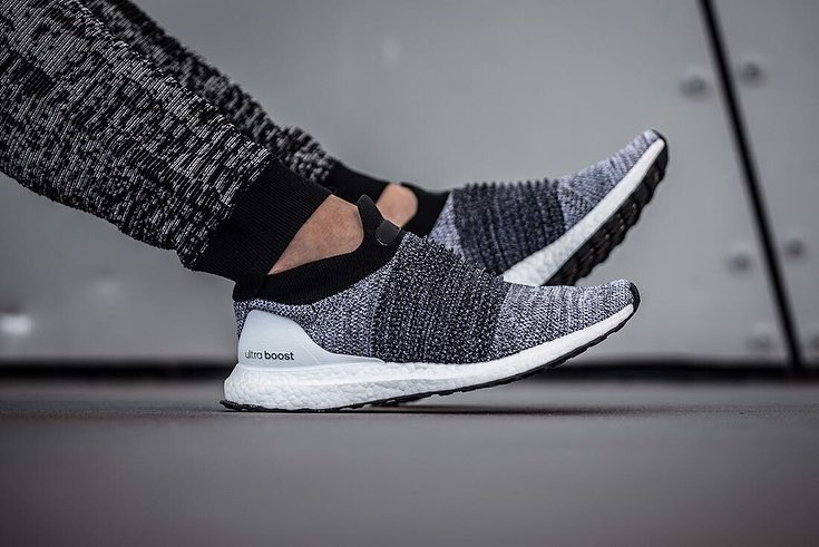 Adidas Ultraboost Laceless Shoes White BB6141
