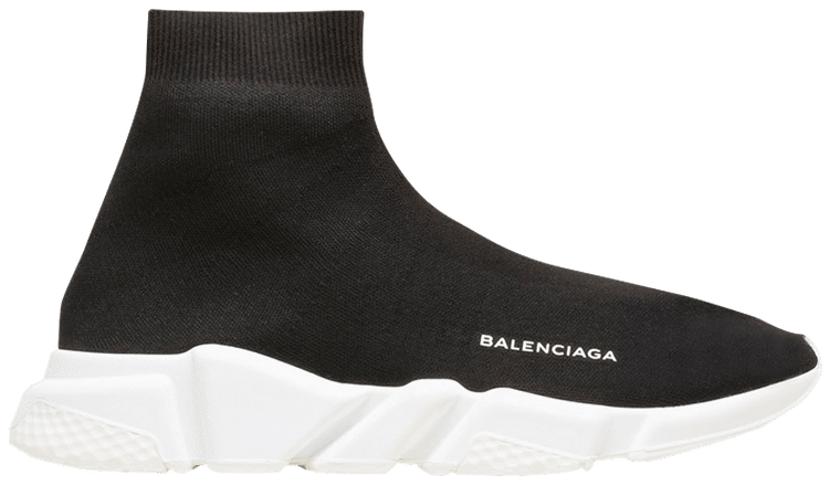 Balenciaga Speed Trainer Mid 'Black'  458653-W05G0-1000