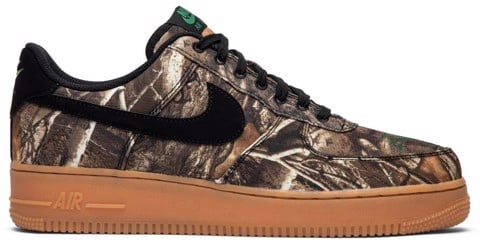Nike Air Force 1 Low 'Realtree Black' AV0749-001