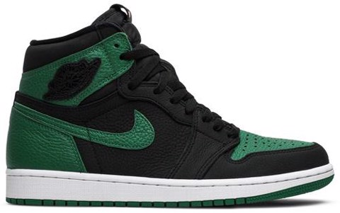 Nike Jordan 1 Retro High 'Pine Green Black'  2.0 555088-030