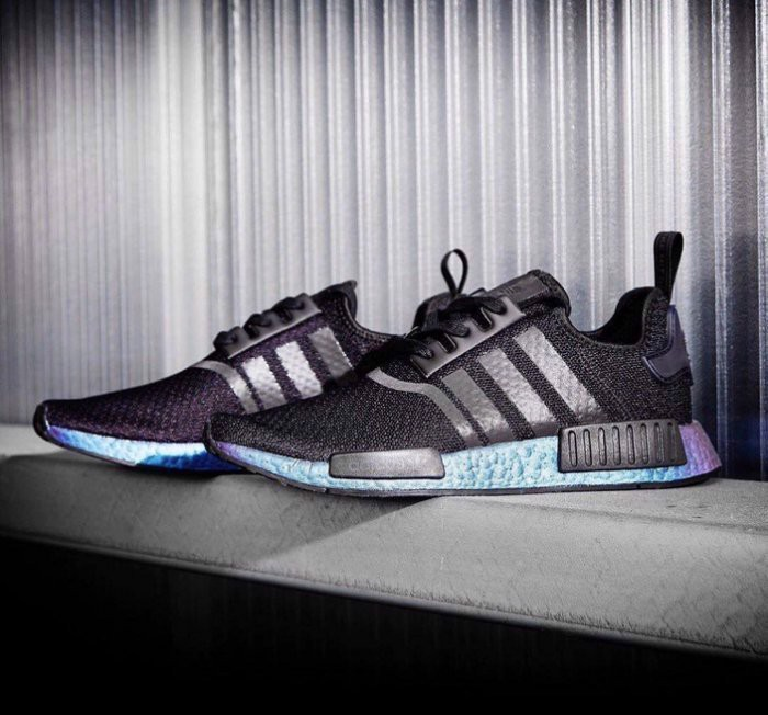 Adidas NMD R1 Goodbye Gravity Black FV3645