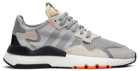 giay adidas nite jogger grey orange db3361