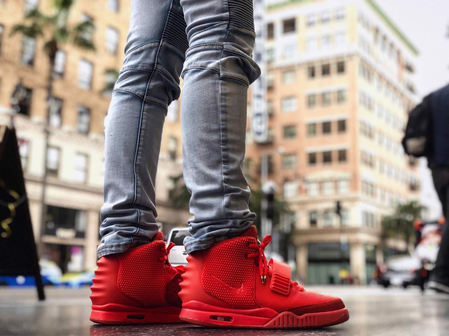 Nike Air Yeezy 2 SP 'Red October' 508214-660