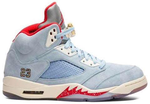 Trophy Room x Air Jordan 5 Retro 'Ice Blue' CI1899-400