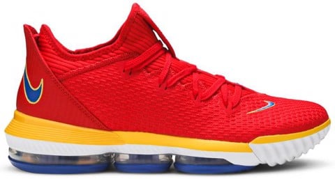 Nike LeBron 16 Low 'SuperBron' CK2168-600
