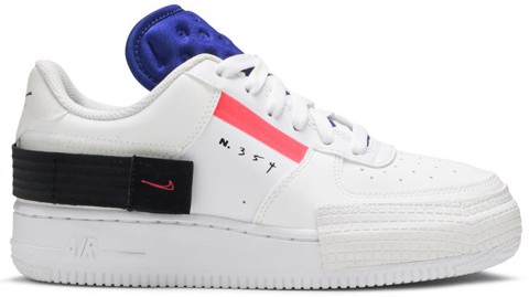 Nike Air Force 1 Low Drop Type GS 'Summit White' BQ4793-100