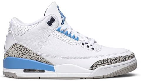 Nike Air Jordan 3 Retro 'UNC' CT8532-104
