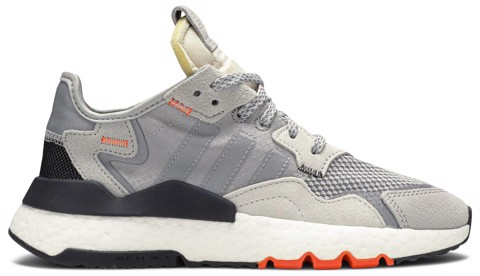 giay adidas nite jogger j grey orange db2808