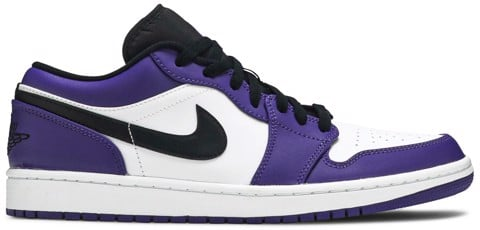 Nike Air Jordan 1 Low 'Court Purple'  553558-500