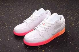 Nike Air Jordan 1 Low GS 'Sunset Sole' 554723-100