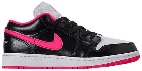 Nike Air Jordan 1 Low GS 'Black Hyper Pink' 554723-061