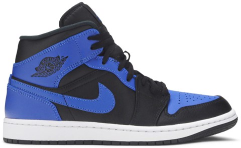 Nike Air Jordan 1 Mid 'Hyper Royal' 554724-077