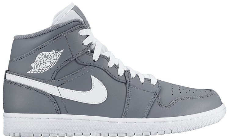 Nike Air Jordan 1 Mid 'Cool Grey' 554724-036