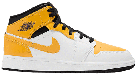 Nike Air Jordan 1 Mid GS 'University Gold' 554725-170