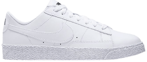 giay nike blazer low gs white 555190 102