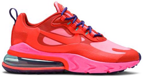Nike Wmns Air Max 270 React 'Mystic Red Pink Blast' AT6174-600