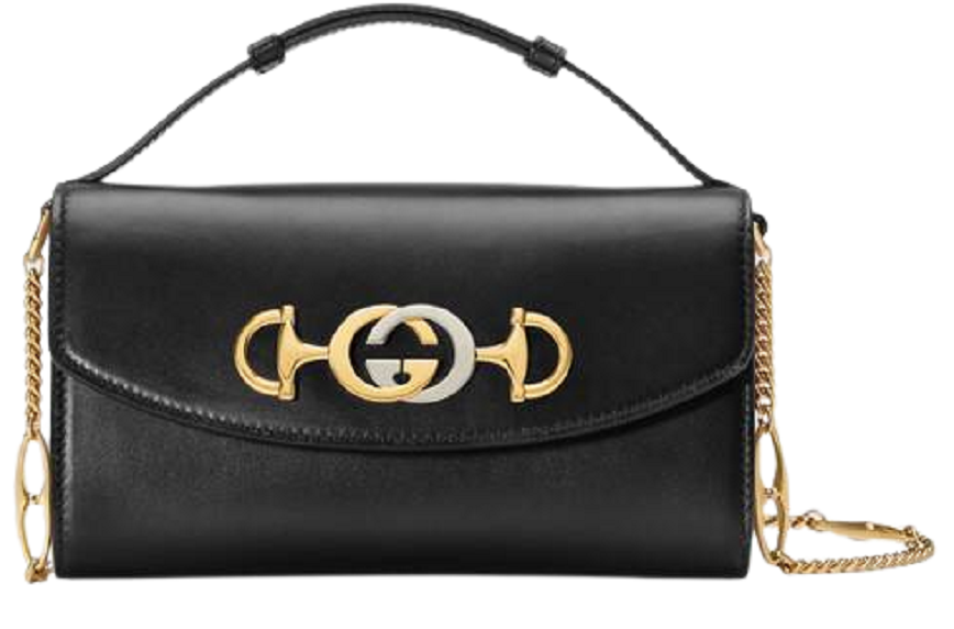 Túi Gucci Ladies Black Zumi Smooth Leather Mini Shoulder Bag 564718 05J0X 1000