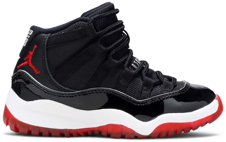 Giày Nike Air Jordan 11 Retro PS 'Bred' 2019 378039-061