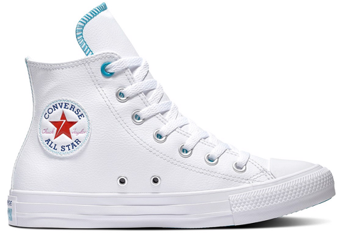 converse chuck taylor all star vltg back to earth white rapid teal 567127v