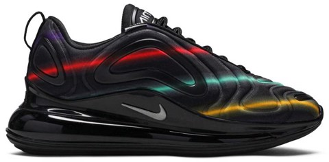 giay nike wmns air max 720 black multi ar9293 023