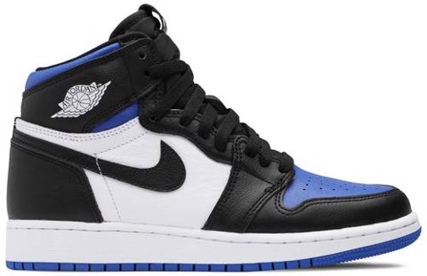 Nike Air Jordan 1 Retro High OG GS 'Royal Toe' 575441-041