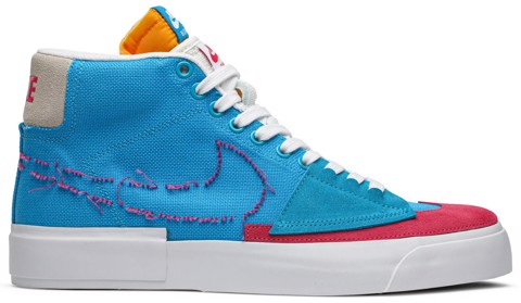 giay nike new blazer mid sb edge hack pack ci3833 400