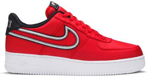Nike Air Force 1 Low 'Reverse Stitch - Red' CD0886-600