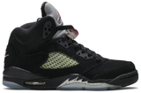 Giày Nike Air Jordan 5 Retro OG BG 'Metallic' 2016 845036-003