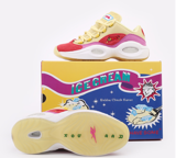 Giày Reebok BBC Ice Cream x Question Low Yellow Red FZ4346