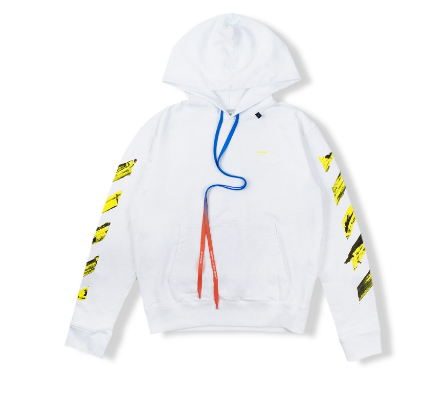 Giày Off White Acrylic Arrows Hoodie White Yellow OW00231