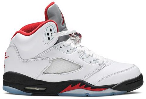 Air Jordan 5 Retro GS 'Fire Red' 2020 440888-102