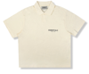 Fear Of God Essentials Short Sleeve Boxy Polo Buttercream FOG-ESSSBPB