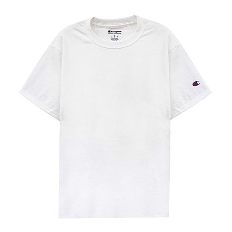 Champion T425-Basic Tee White