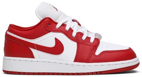 Nike Air Jordan 1 Low Gym Red White (GS) 553560-611