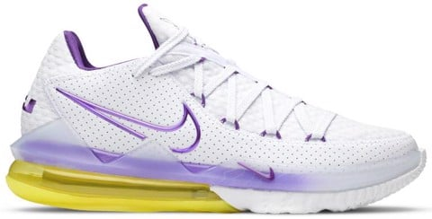 Nike LeBron 17 Low 'Lakers' CD5007-102
