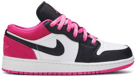 Nike Air Jordan 1 Low GS Black Active Fuchsia CT1564-005