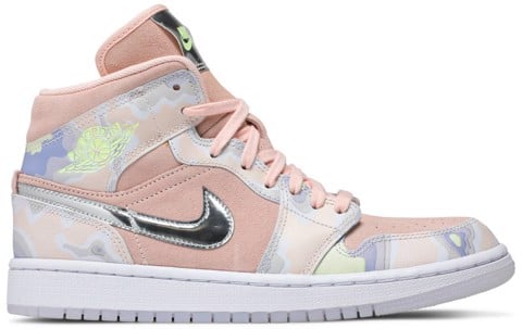 giay nike wmns air jordan 1 mid se p her spective cw6008 600