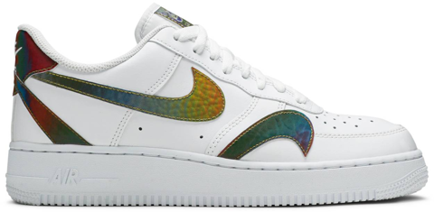 giay nike air force 1 low misplaced swoosh white ck7214 101
