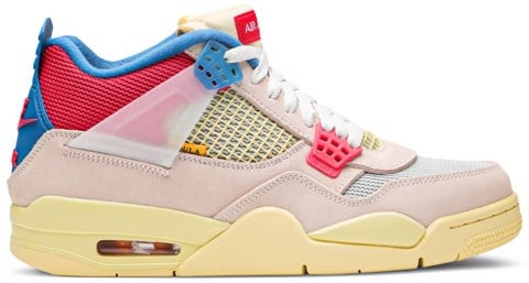 Nike Air Union LA x Air Jordan 4 Retro 'Guava Ice'  DC9533-800
