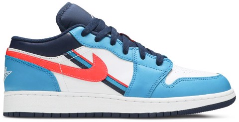 Nike Air Jordan 1 Low GS 'Game Time' CV4892-100