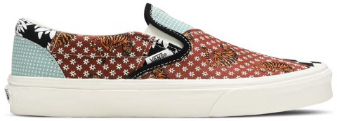 Vans Classic Slip-On 'Tiger Patchwork' VN0A4U381IO