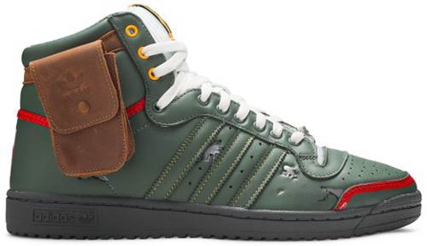 Adidas Star Wars x Top Ten Hi 'Boba Fett' FZ3465