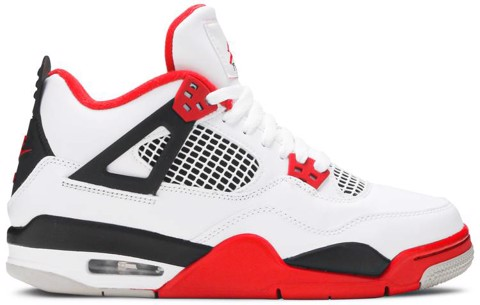 Nike Air Jordan 4 Retro OG GS 'Fire Red' 2020 408452-160