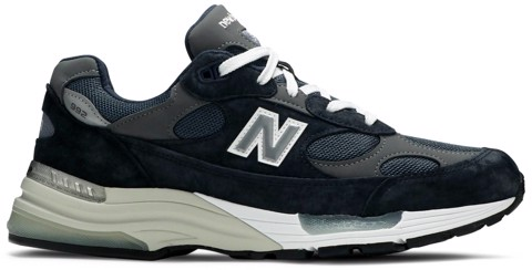 giay new balance 992 made in usa navy grey m992gg