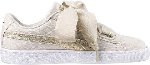Puma Basket Heart Canvas 366495-01